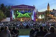 Zahajovací koncert Mezinárodního hudebního festivalu Český Krumlov.