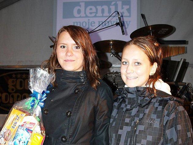 Simona Černá (vpravo) a Bohumila Potůčková.