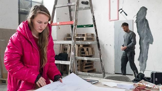 Kateřina Kuchtová (na snímku) je jednou z inciátorek projektu Prádelna - Český Krumlov.