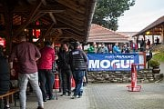 Setkání účastníků a příznivců Rallye Český Krumlov na Holkově.