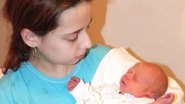 Prvním letošním novorozencem našeho regionu se stala Janička Kodadová z Českého Krumlova.