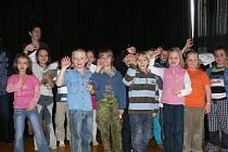 Děti dokázaly, že je básničky baví.