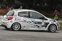 Pavel Kundrát se Zbyňkem Pilsem se spolu představí letos teprve podruhé. Při Rallye Č. Krumlov (na snímku) podali velmi dobrý výkon, když na domácích tratích dojeli třetí ve třídě.