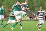 I. B třída (skupina A) – 22. kolo: FK Spartak Kaplice (bíločerné dresy) – TJ Malše Roudné B 8:0 (6:0).