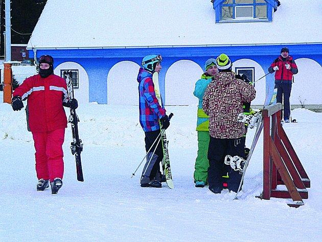 Ilustrační foto z lipenského ski areálu.