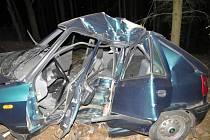 Tragická dopravní nehoda u Přídolí.