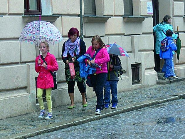 Deštivý Krumlov