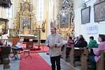 Kostel sv. Jiří v Blansku.