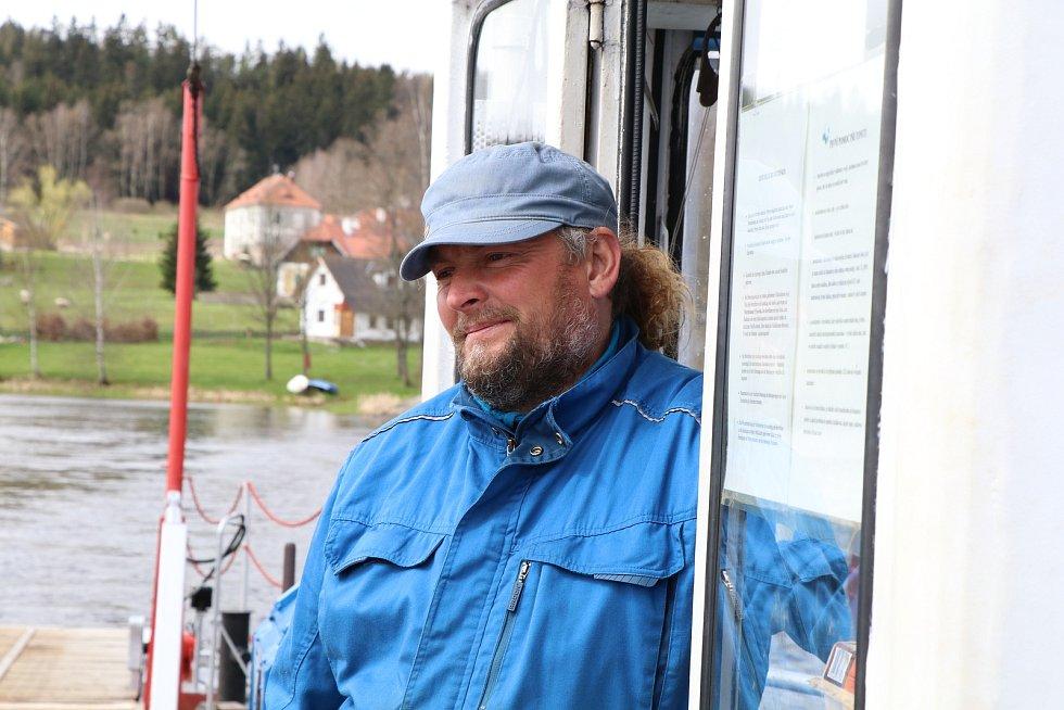Přívoz v Horní Plané jezdí v normálním režimu.