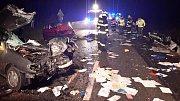 Na E55 u Kaplice došlo ke smrtelné nehodě.