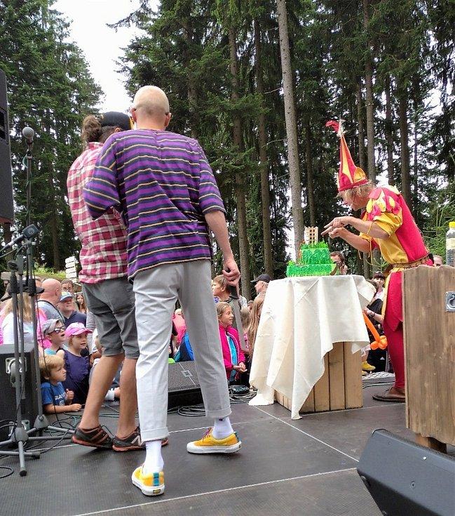 Oslava narozenin Stezky v korunách stromů v Lipně nad Vltavou.
