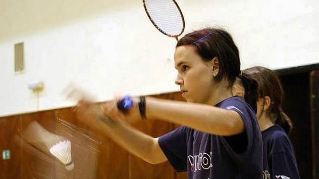 Sabina Milová je ve své kategorii jednou z nejlepších badmintonistek v České republice.