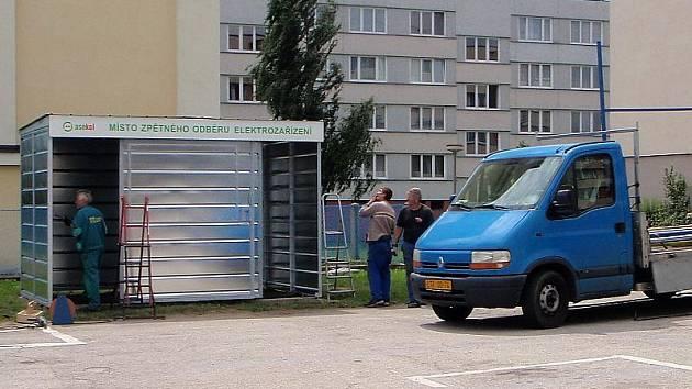E–domek na sídlišti u vodárny lidem otevřou  pracovnice  kulturního a informačního centra.