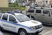 Městská policie ve Vyšším Brodě má nové auto.