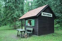 Lesní knihovna na Dobré vodě v Horní Plané.
