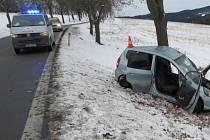 Tragická nehoda mezi Světlíkem a Větřním.