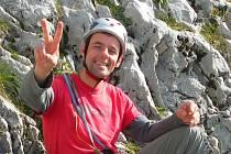 Ján Jesenský z Českého Krumlova je předsedou Oblastní vrcholové komise Českého horolezeckého svazu v jižních Čechách.