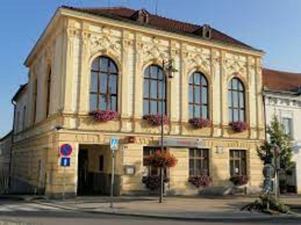 Slovanský dům v Kaplici.