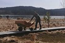 Naučná stezka Olšina má za sebou dostavbu, která zvyšuje komfort a chrání přírodu.