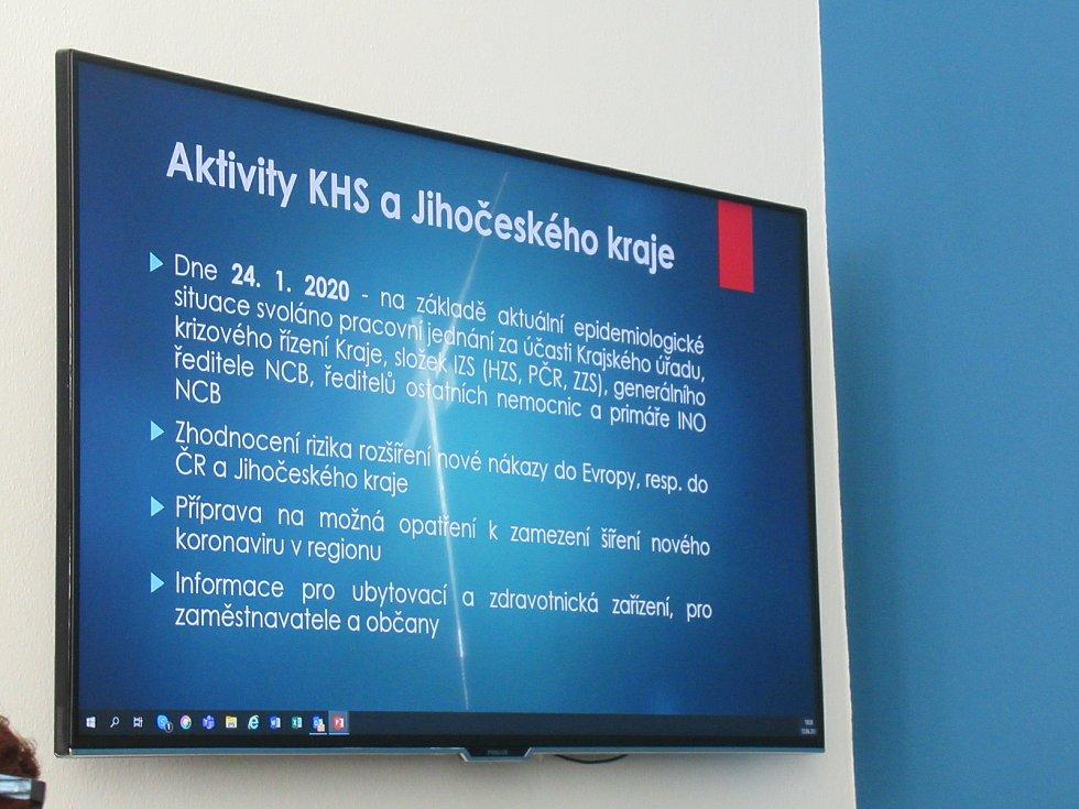 Hodnocení jarní koronavirové krize s bývalým ministrem zdravotnictví Adamem Vojtěchem na KHS v ČB.