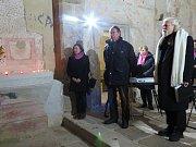 V kostele sv. Mikuláše v Boleticích.