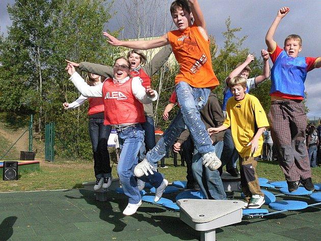 Děti mohou z Českého Krumlova soutěžit také se svými vrstevníky z Finska nebo Belgie.