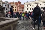 Architektonická procházka po Českém Krumlově a architektonická bojovka.