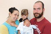 Loučovičtí Jiřina a Petr Březinovi mají od 11. října 2016 dalšího potomka. Ten den v10:00se jim narodil 48 cm měřící a 3055 g vážící Petr Březina. Schlapečkem se do porodnice přišla vyfotit tříletá Adriana. Tatínek u porodu asistoval.