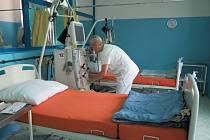 Oddělení hemodialýzy v Nemocnici Český Krumlov.