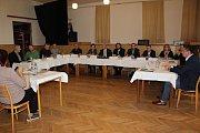 Ustavující zasedání nového zastupitelstva ve Velešíně.