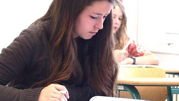 Přijímací test dal uchazečům o studium na českokrumlovském gymnáziu zabrat.