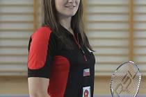 Sama Lucie Černá ví, že badminton nezapomněla, ale po dlouhé pauze zaviněné zraněním  je znát, že ještě nedohonila výpadek v kondiční přípravě.