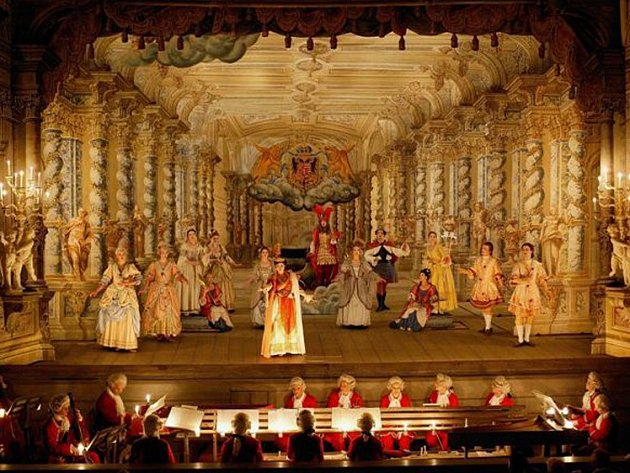 Českokrumlovské barokní divadlo.
