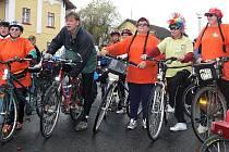 Nadšení nezná mezí, když se dolnodvořišťští příznivci cykloturistiky vydávají na cesty.