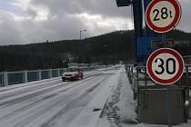 Sněhu v českokrumlovském regionu nenapadalo tolik, jak hrozili meteorologové.
