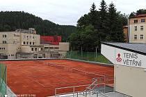 Nové tenisové centrum ve Větřní