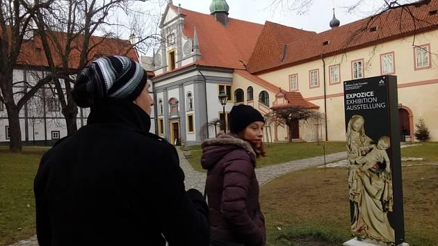 Českokrumlovské kláštery za sebou mají druhý rok provozu, návštěvnost je oproti roku 2016 téměř na dvojnásobku.
