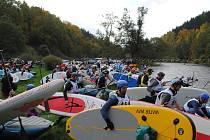Krumlovský vodácký maraton 2015.