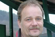 Trenér FC Šumava Frymburk Jan Berit.