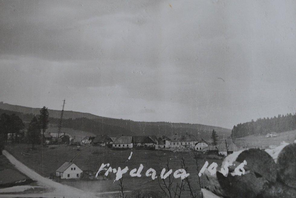 Frýdava v roce 1956.