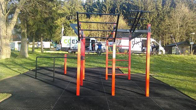 Popularita venkovního cvičení roste