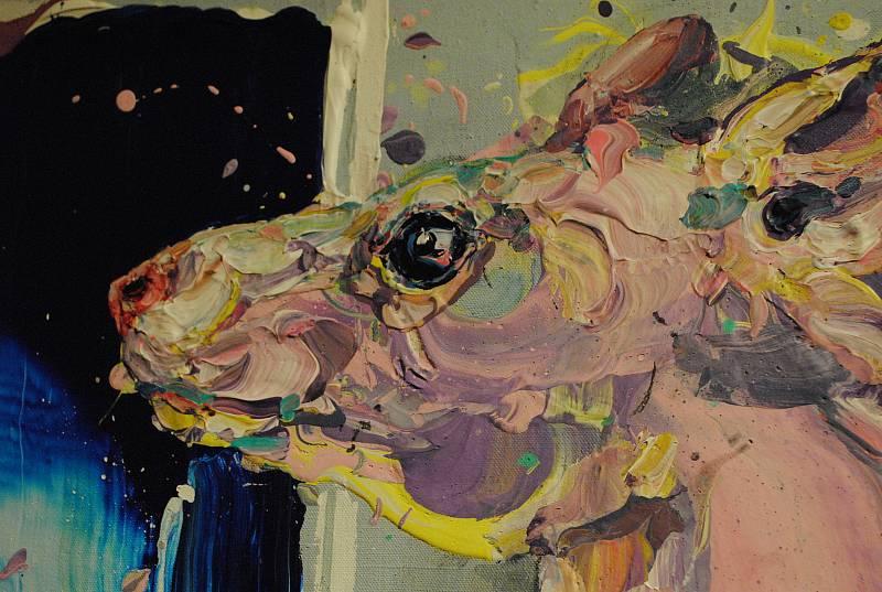 Z výstavy Michaela Rittsteina.