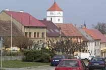 Město Velešín.