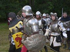 Středověká bitva u Brloha.