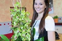 Finalistka České Miss 2016 Vendula Neumanová přišla na velešínské zastupitelstvo.