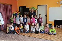 Předškoláci z MŠ Za Nádražím.