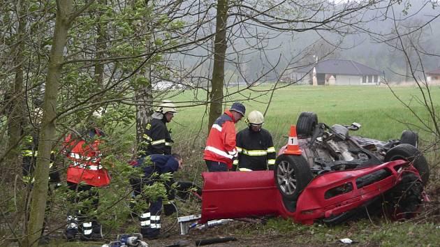 Tragická nehoda se stala v pondělí krátce po poledni u Blanaka.