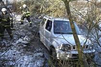Jedna z nehod se odehrála u Bečice.