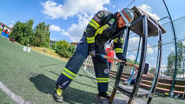 Dobrovolní hasiči soutěžili ve Frymburku.