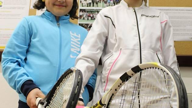 Dětský tenis je hlavní náplní činnosti LTC Český Krumlov.